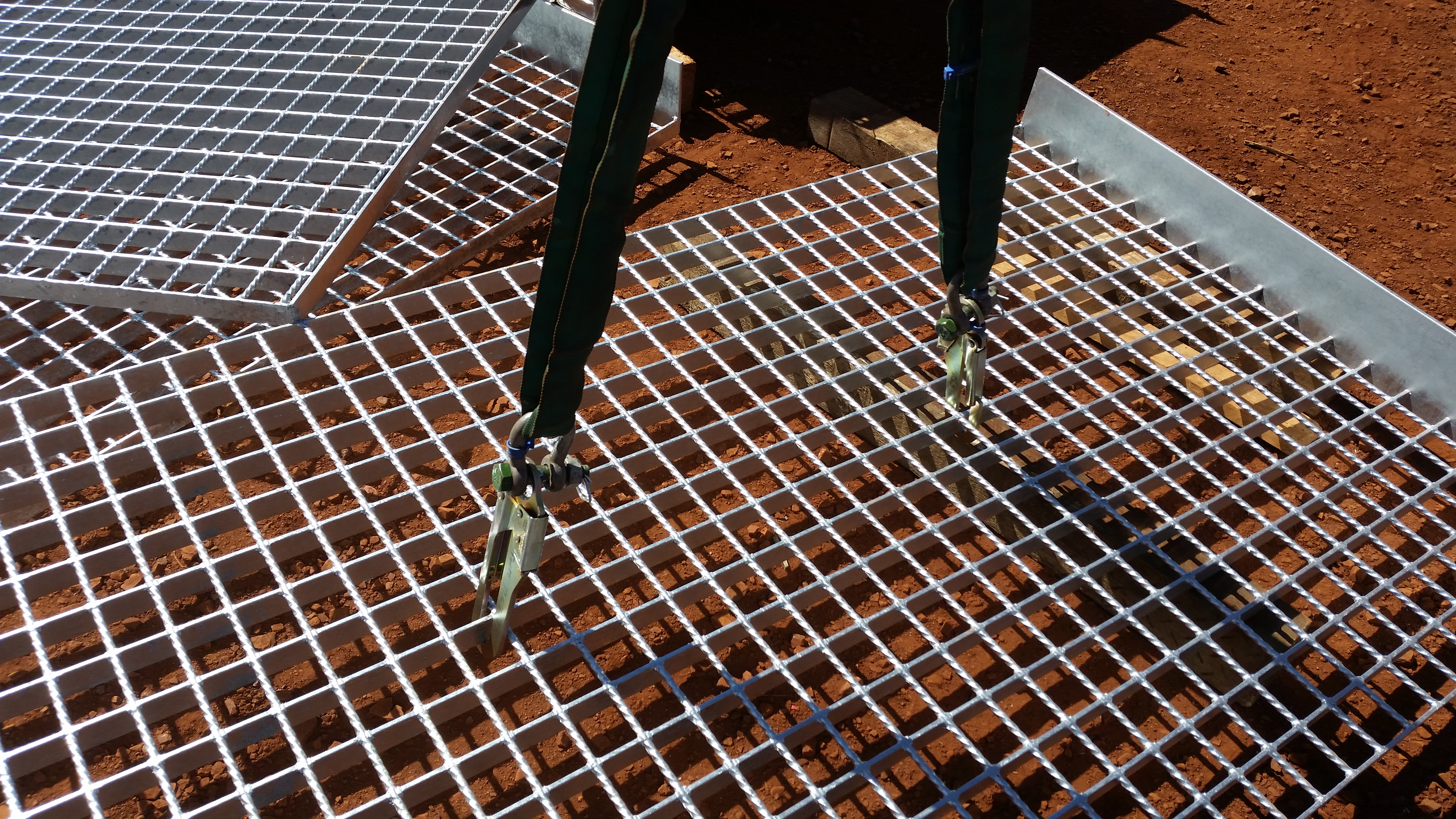 The Gridhook Gold Walkway Grating Lifter Or Gridmesh